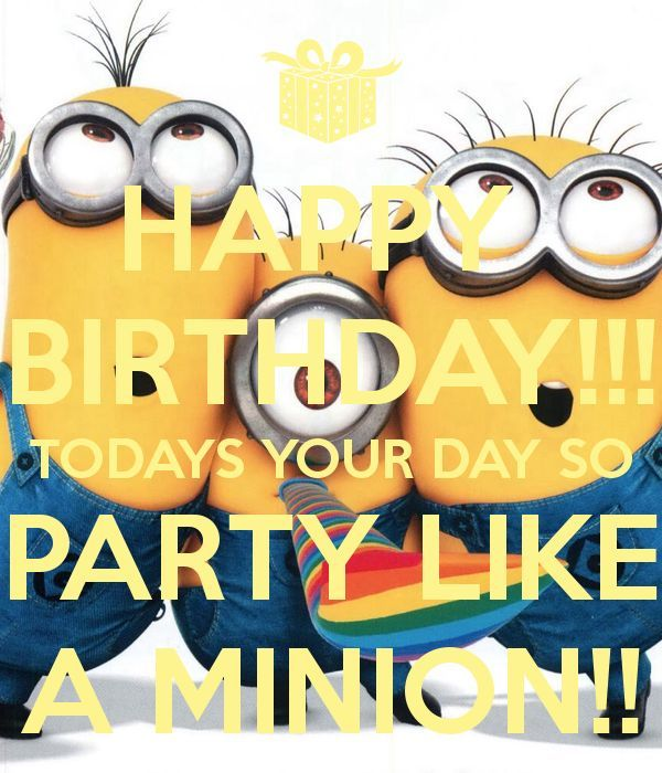 Birthday Funny Minion Quote Pictures Photos And Images: Happy Birthday Minion Quote Pictures, Photos, And Images