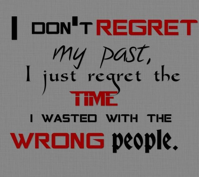 about my past