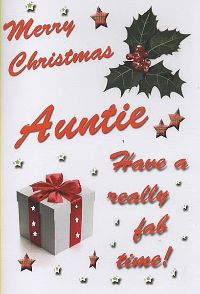 Merry Christmas Auntie Pictures, Photos, and Images for Facebook ...