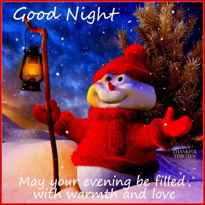 Goodnight May Your Evening Be Filled With Love