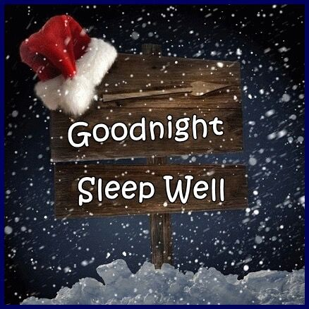 goodnight sleep well christmas quote pictures photos and