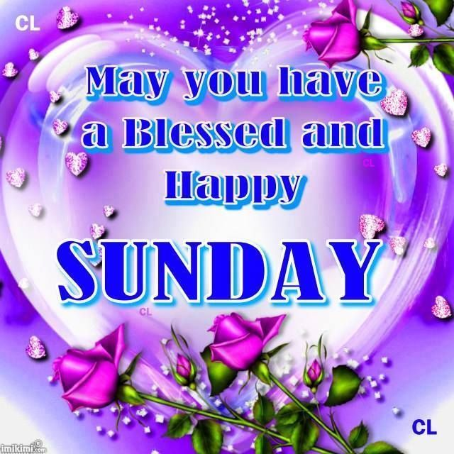 May You Have A Blessed And Happy Sunday Pictures, Photos ...