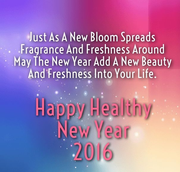 Happy Healthy New Year 2016 Pictures, Photos, and Images ...