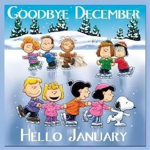 Goodbye December, Hello January Pictures, Photos, and ...