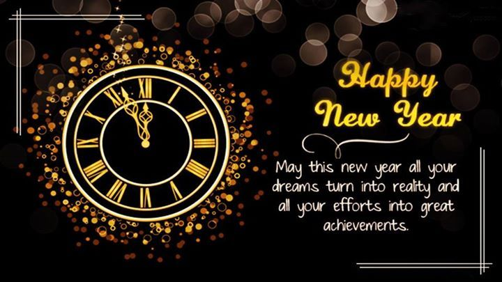 Image result for happy new year clock may this new year all your dreams turn