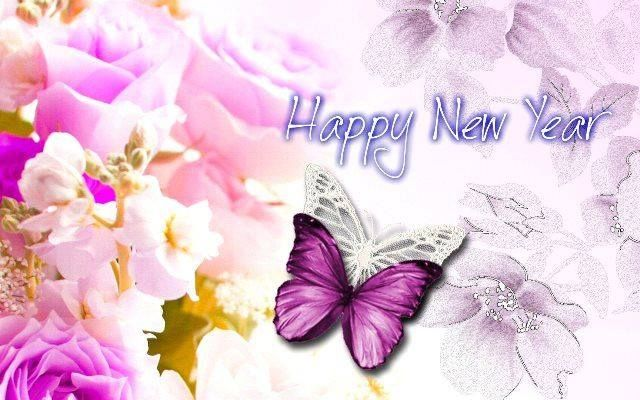 Happy New Year Now Fly Butterfly Pictures, Photos, and ...