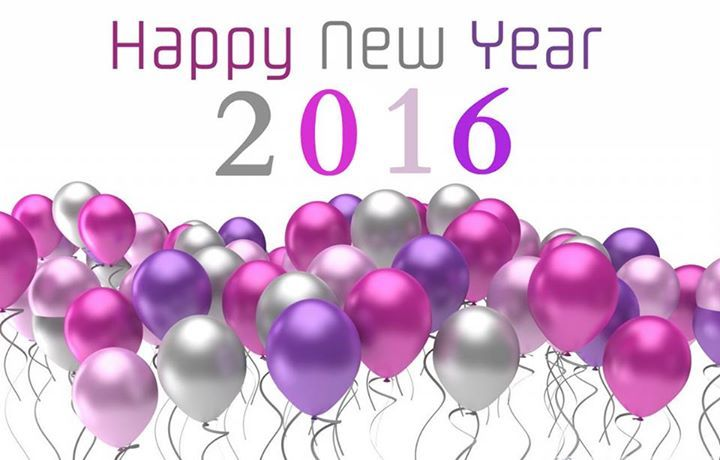 Happy New Year 2016 With Balloons Pictures, Photos, and Images for ...