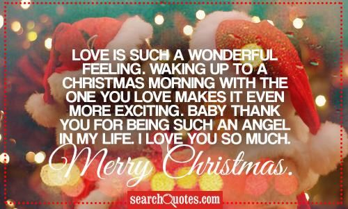 25 Best Christmas Quotes On Pinterest: Love Is Such A Wonderful Feeling Pictures, Photos, And