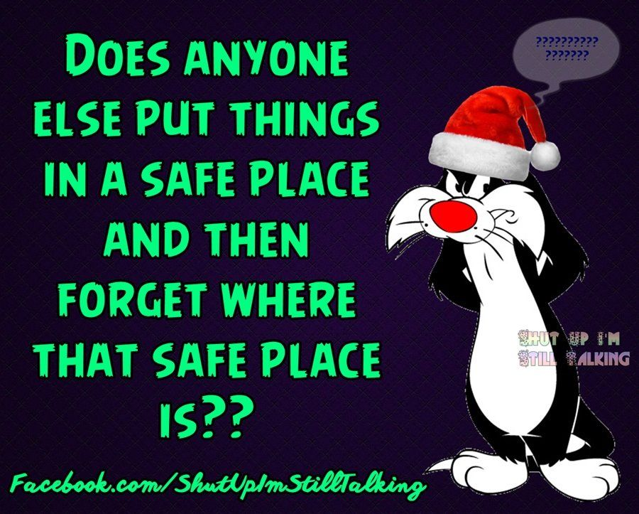 Does Anyone Else Put Things I A Safe Place And Forget