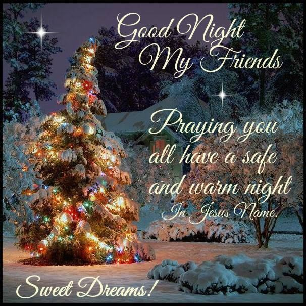 Religious Christmas Time Good Night Quote Pictures, Photos, and ...