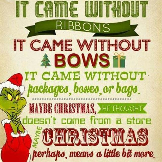 Christmas Perhaps Means A Little Bit More Pictures, Photos ...