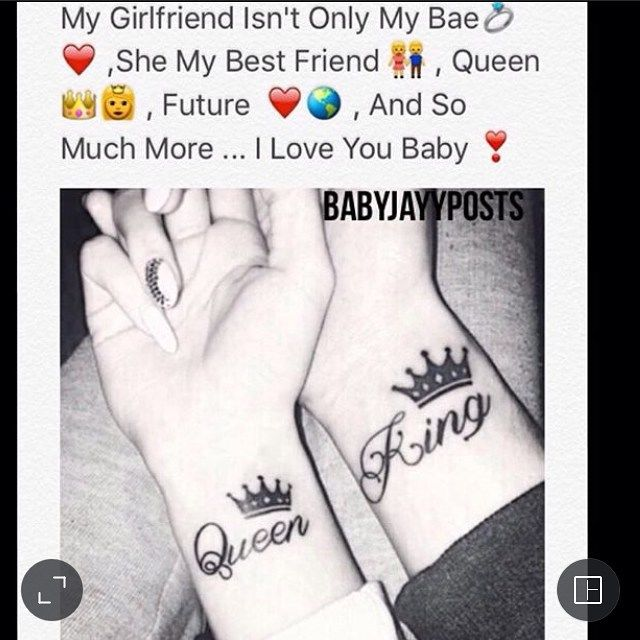my girlfriend isnt only my bae she my best friend queen future and so much more