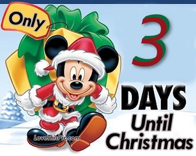 Only 3 Days Until Christmas Pictures, Photos, and Images for ...