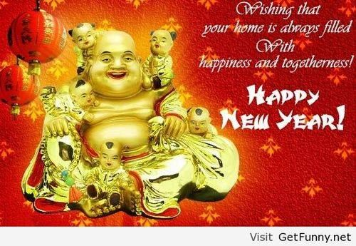 Happy New Year From Budha Pictures, Photos, And Images For