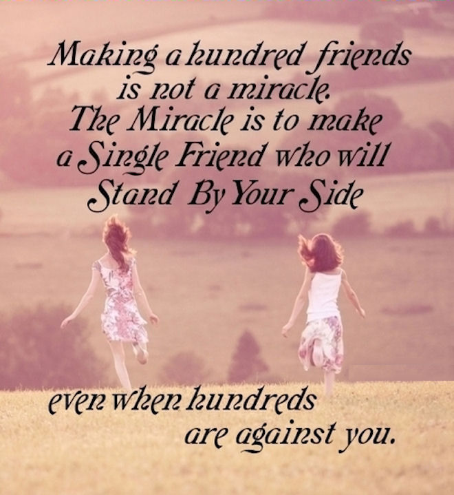 Making A Hundred Friends Is Not A Miracle Pictures, Photos