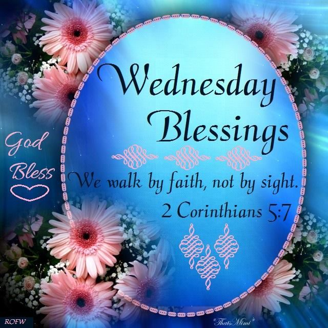 Wednesday Blessings Bible QUote Pictures, Photos, and Images ...