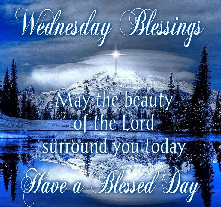 Winter wednesday blessings pictures photos and images for facebook winter wednesday blessings m4hsunfo
