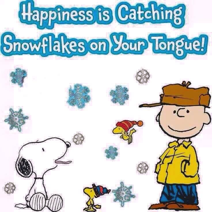 Happiness Is Snowflakes On Your Tongue Pictures Photos