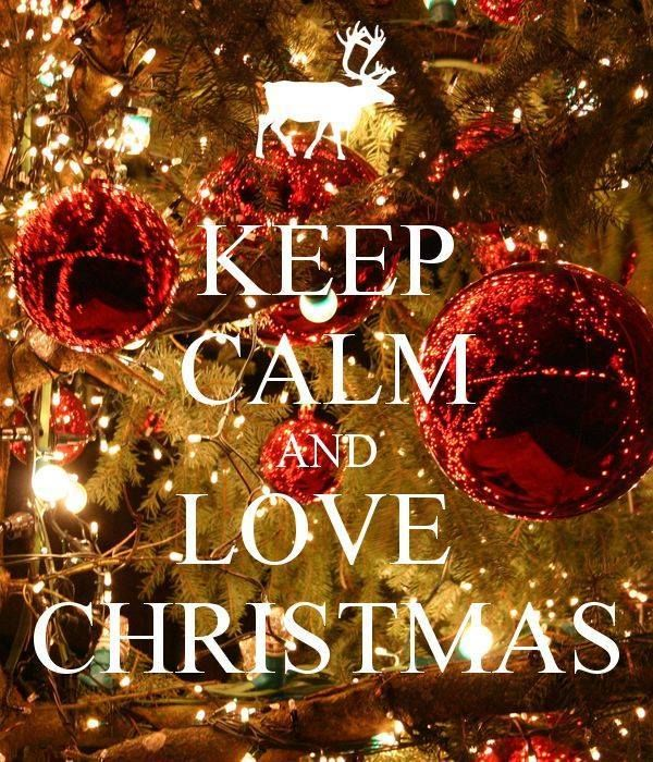 Keep Calm And Love Christmas Pictures, Photos, and Images for Facebook, Tumbl...
