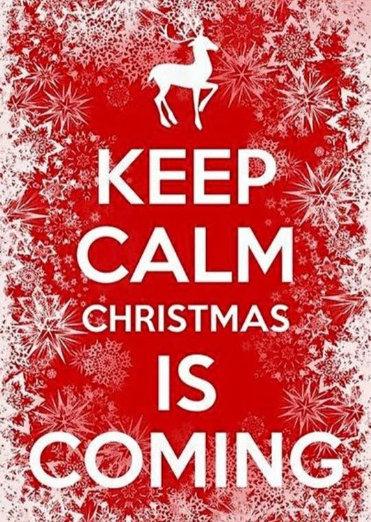 Keep Calm Christmas Is Coming Pictures, Photos, and Images for Facebook, Tumb...