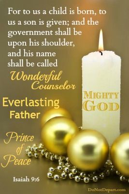 Isaiah 9:6 - Christmas Blessing Pictures, Photos, and Images for ...