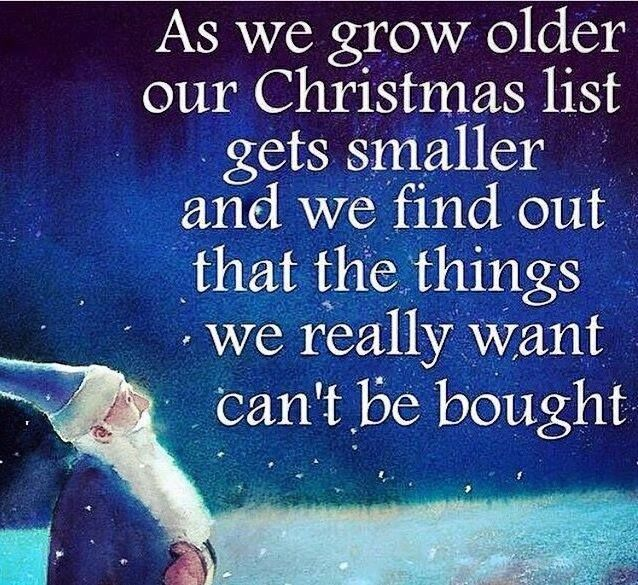 as we get older our christmas list gets shorter pictures photos and