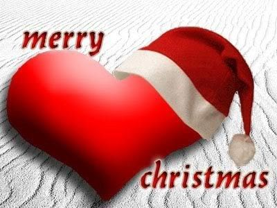 Merry Christmas Heart Pictures, Photos, and Images for