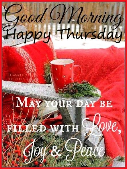 christmas good morning happy thursday image pictures