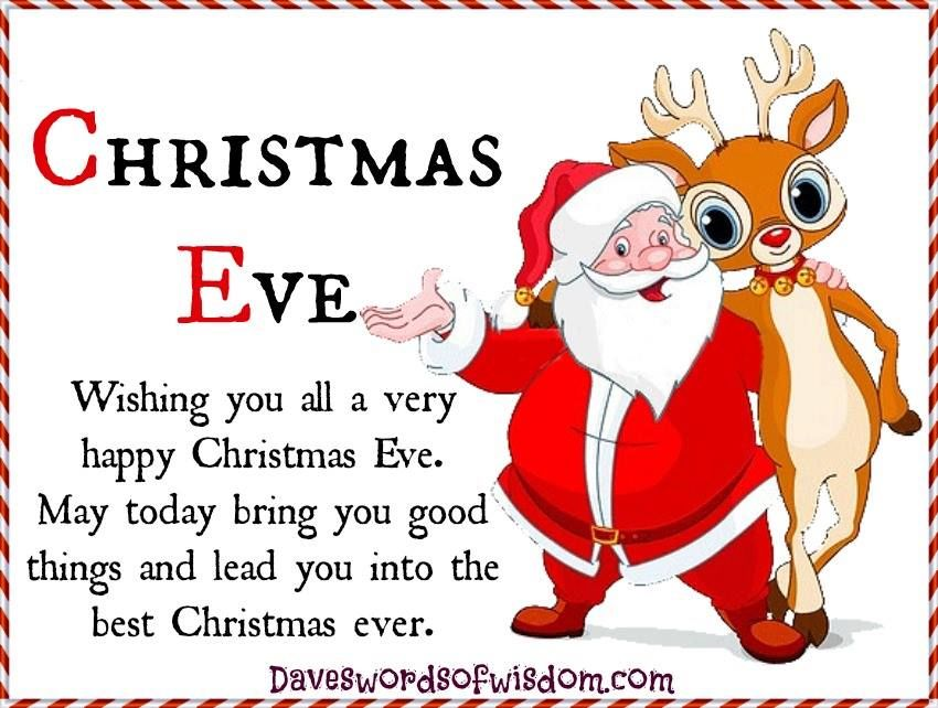Wishing You All A Happy Christmas Eve Pictures, Photos