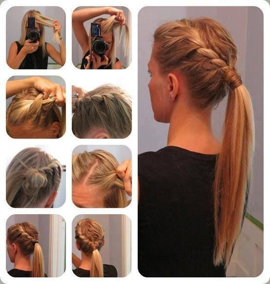 Diy Braid Ponytail Pictures Photos And Images For Facebook - Braid diy pinterest