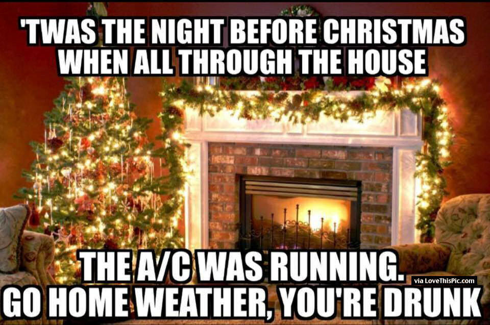 it was the night before christmas funny quote - Funny Twas The Night Before Christmas