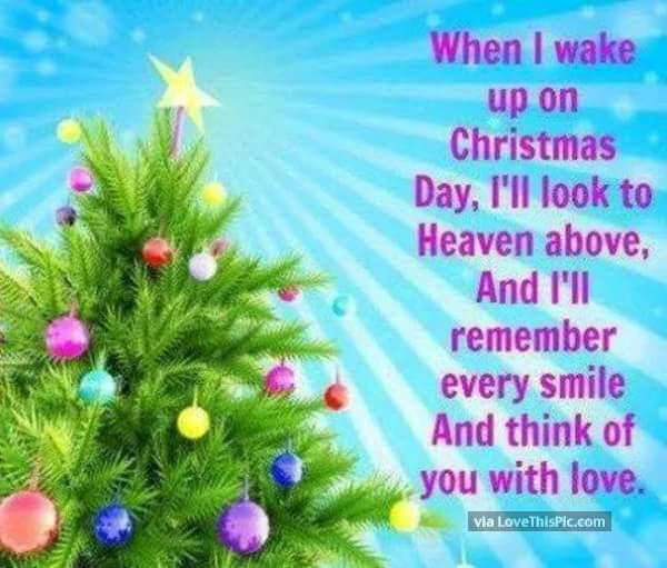 Remembering Loved Ones In Heaven On Christmas Pictures, Photos, and ...