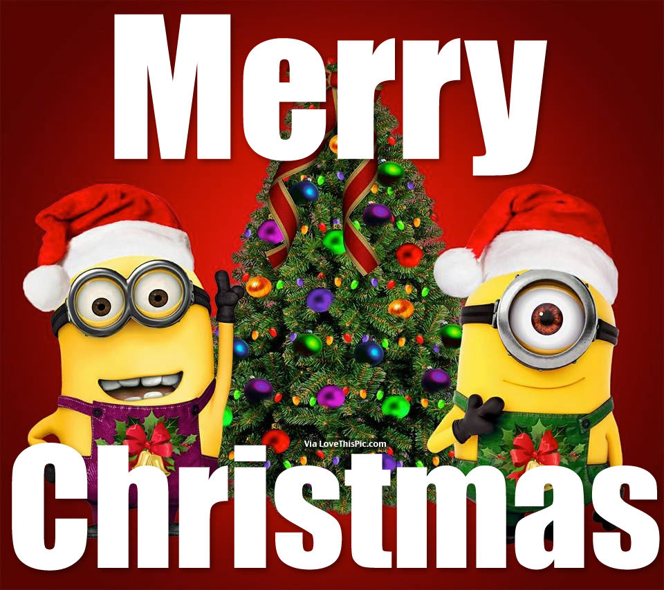 Merry Christmas Minions Pictures, Photos, and Images for Facebook ...