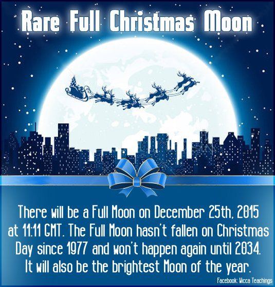 Rare Full Christmas Moon Pictures, Photos, and Images for Facebook ...