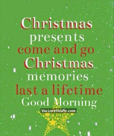 christmas morning quotes