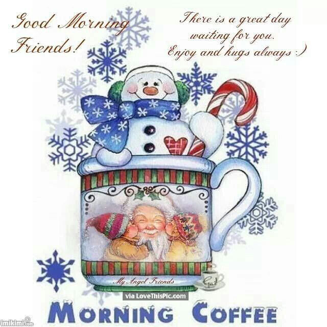 Christmas Good Morning Quotes: Good Morning Friends Christmas Quote Pictures, Photos, And