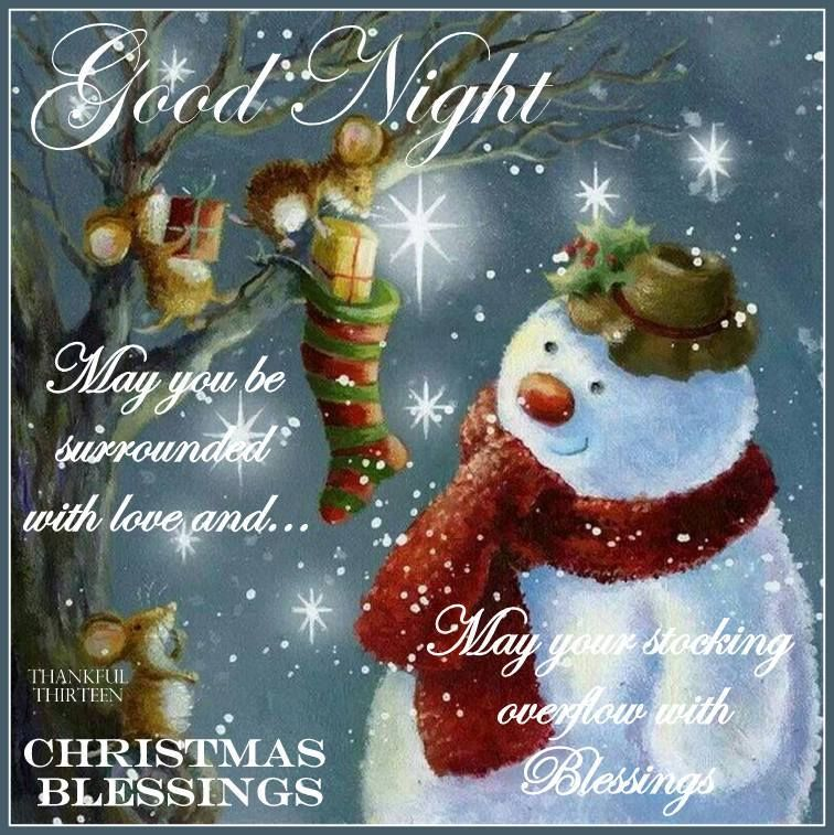 Goodnight Christmas Blessings Pictures, Photos, and Images for ...