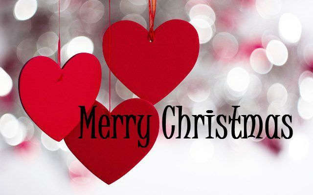 17 Best Images About Christmas Love On Pinterest: Merry Christmas Quote With Hearts Pictures, Photos, And