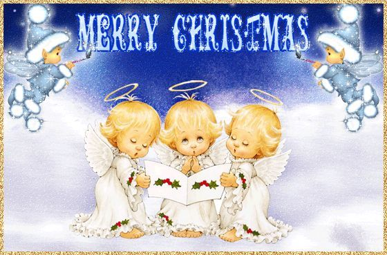 Merry Christmas Angels Pictures Photos and Images for Facebook