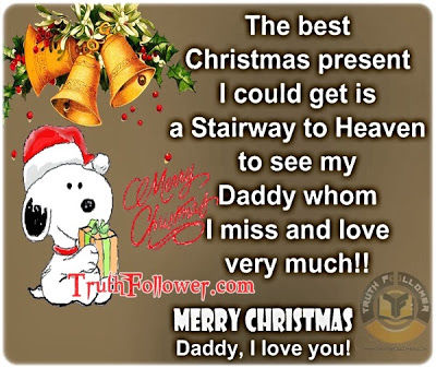 merry christmas to my dad in heaven - Merry Christmas In Heaven