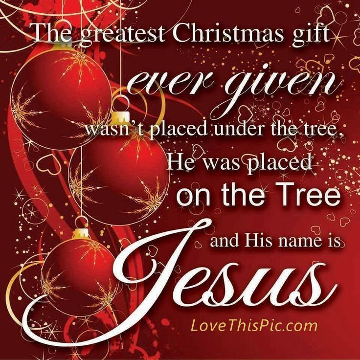 Jesus Is The Greatest Christmas Gift Pictures, Photos, and Images ...