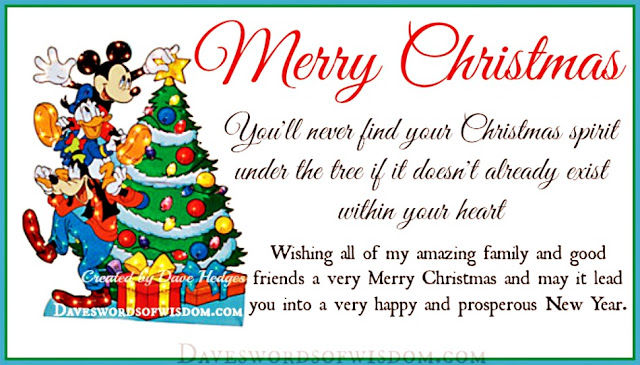 merry christmas disney christmas spirit quote