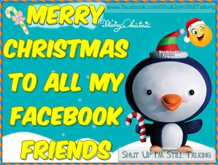 Merry Christmas To All My Facebook Friends Pictures, Photos, and ...