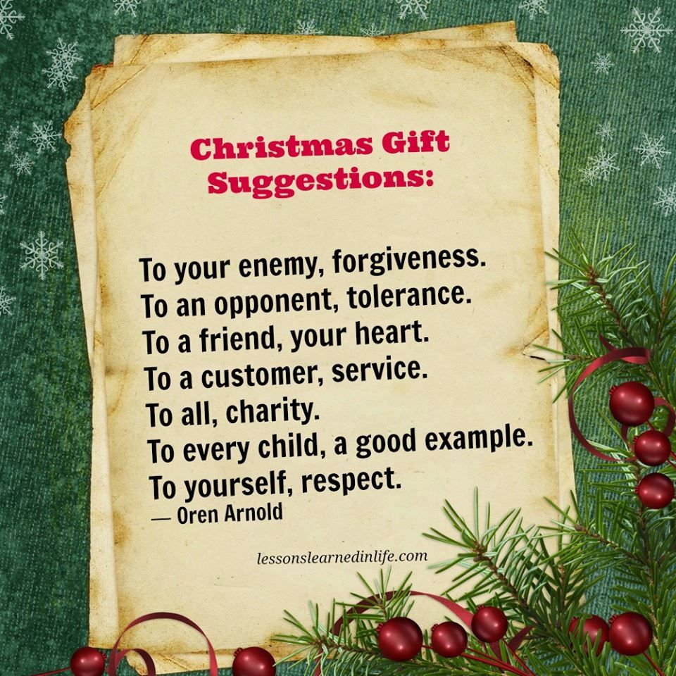 Quotes About Christmas Gifts