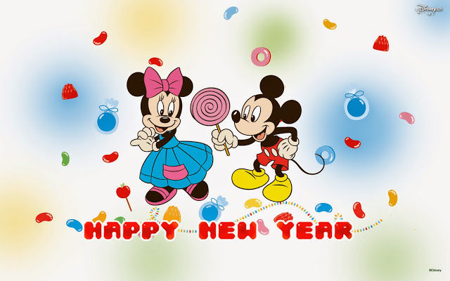 Mickey And Mini Happy New Year Pictures, Photos, and