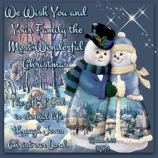 Happy Holidays From My Family To Yours Quotes: Wishing You And Your Family A Wonderful Christmas Pictures