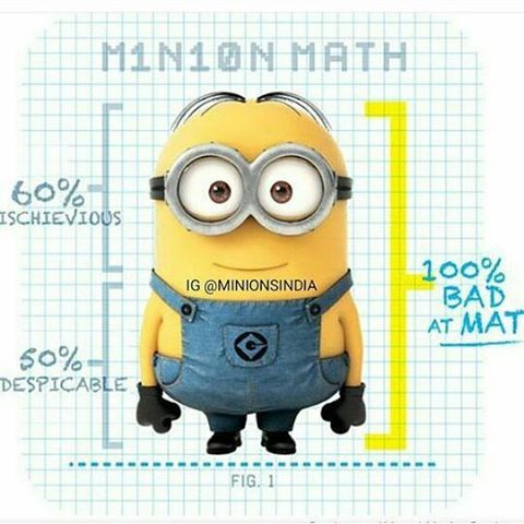 Minion Math Pictures Photos And Images For Facebook Tumblr