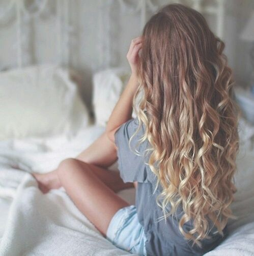Long Curly Wavy Hair