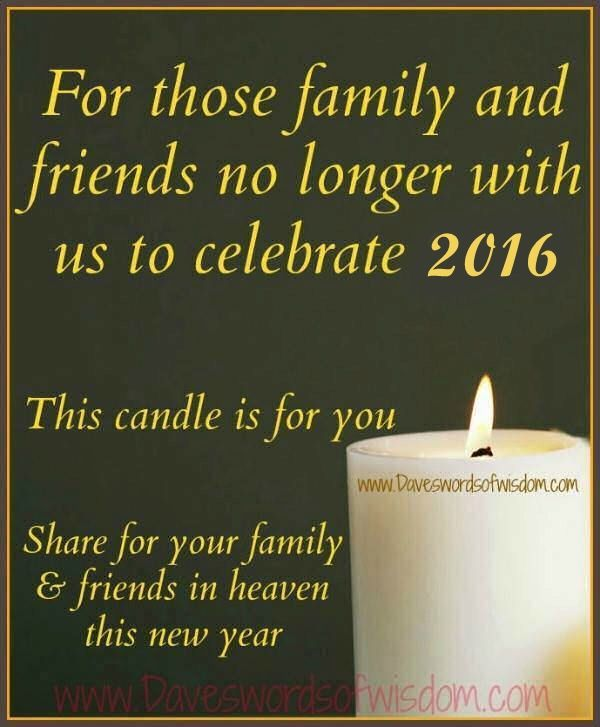 New Years Quote About Remembering Loved Ones