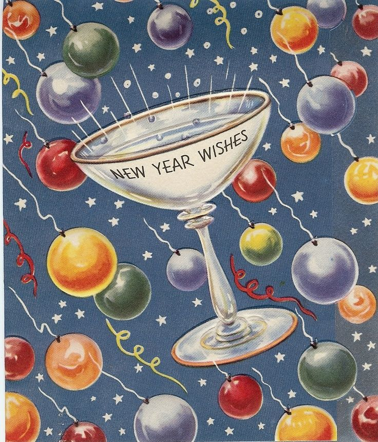 vintage new years wishes quote